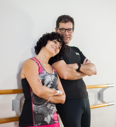 Niurka y Javier, de Look Pilates