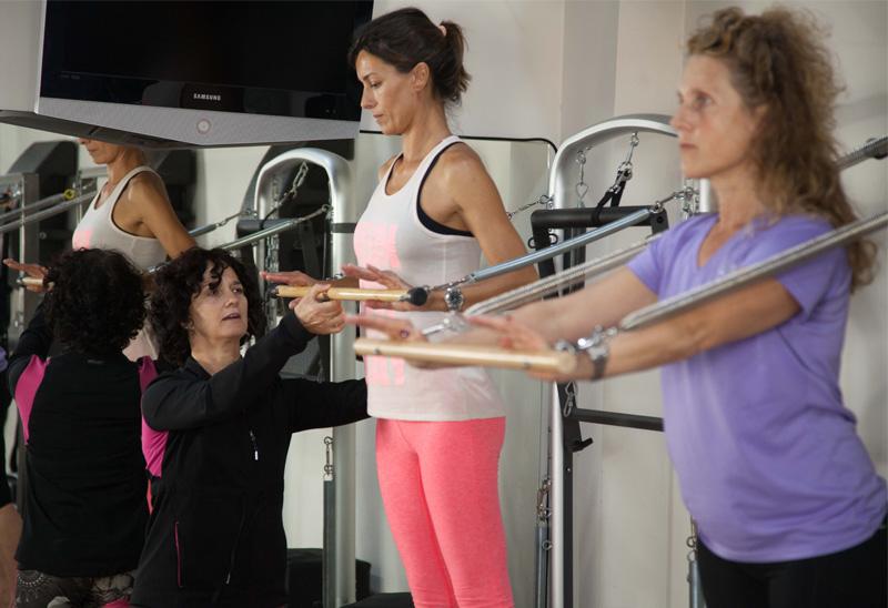 Pilates para tratar la Escoliosis