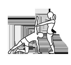 Entrenamiento personal Pilates.